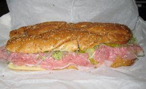 City Sub #19: Ham, Salami, Provolone